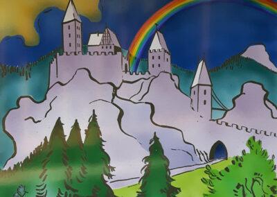Burg Karlsfried / Hrad Karlsfried
