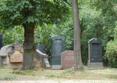 Jüdischer Friedhof / Židovský hřbitov