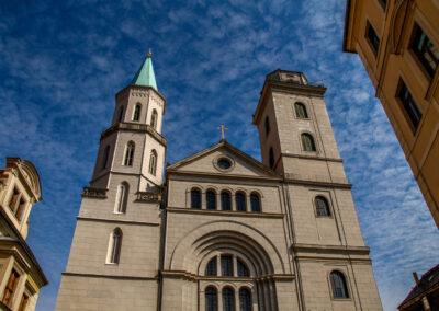 St.-Johannis-Kirche / Kostel sv. Jana
