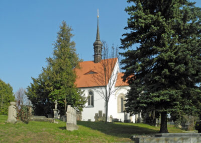 Ev.-luth. Frauenkirche / Evangelicko luteránský kostel Panny Marie